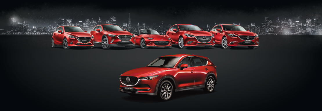 Junge Mazda - Alle Modelle