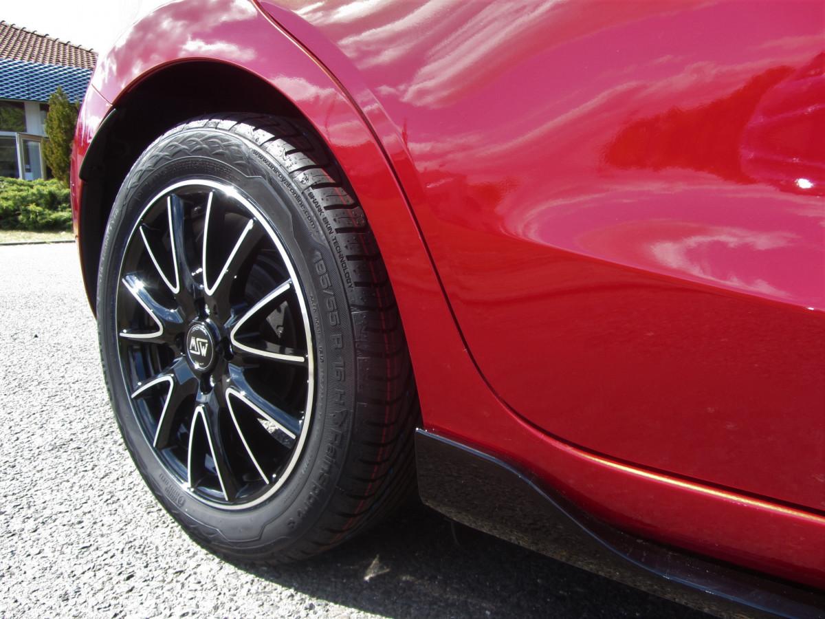 Mazda 2 Sondermodell Senshi Felgen hinten