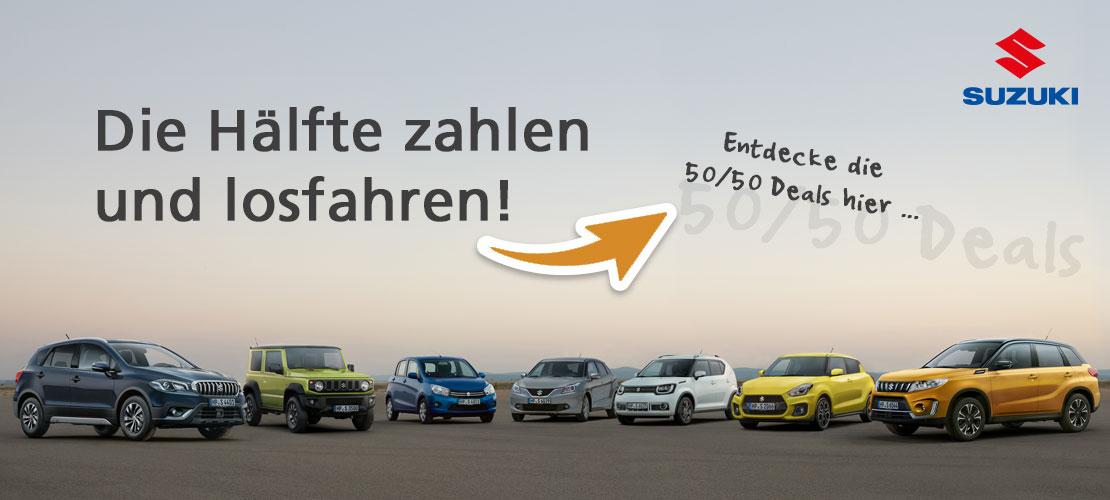 Autohaus Sachs Aktion Suzuki 50|50-Deals