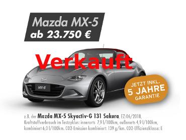Mazda MX-5 Skyactiv-G 131 Sakura
