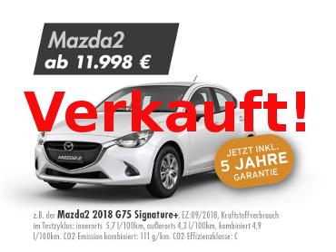 Mazda2 2018 G75 Signature+