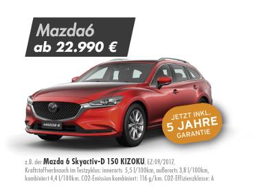 Mazda 6 Skyactiv-D 150 KIZOKU