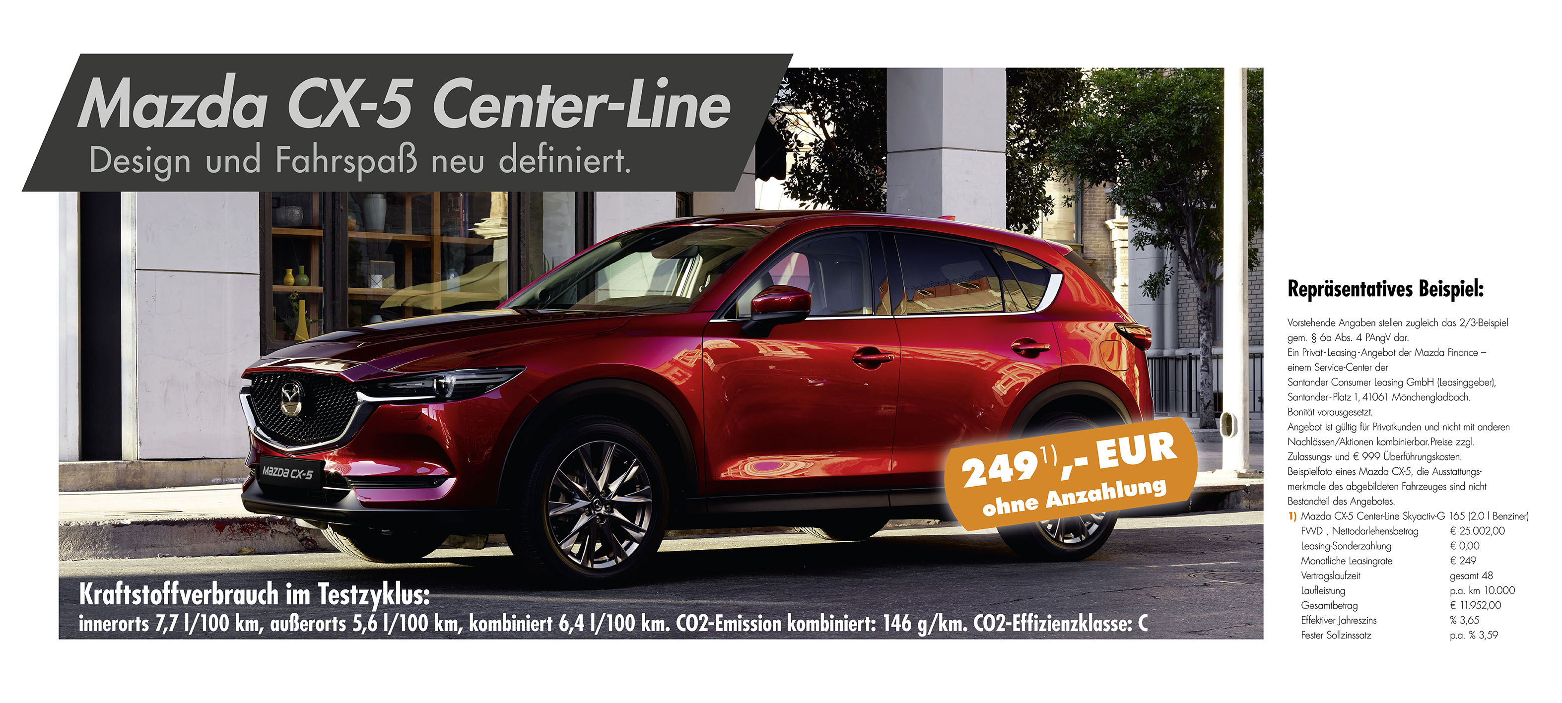 Autohaus Sachs Mazda CX-5 Leasing