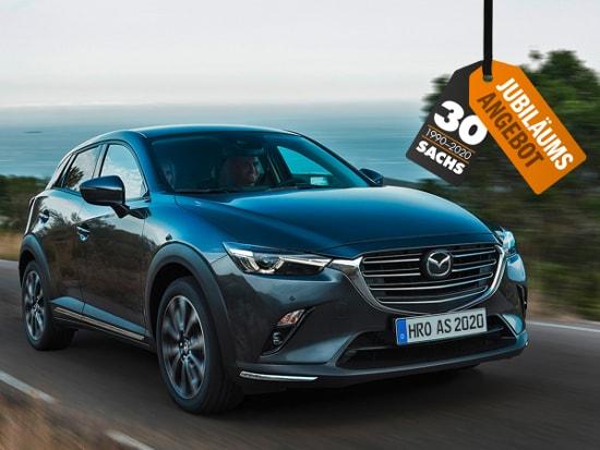 30 Jahre Autohaus Sachs - 100 Jahre Mazda - Jubiläumsangebot
