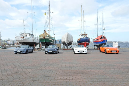 Autohaus Sachs Mazda MX5 Rostock am Stadthafen
