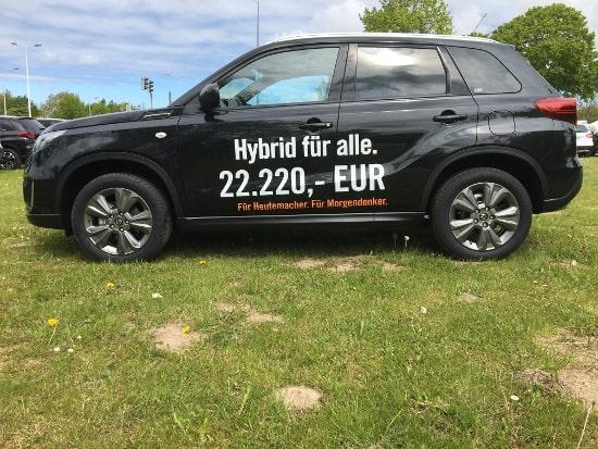 Autohaus Sachs Suzuki Vitara - Ein Hybrid für alle