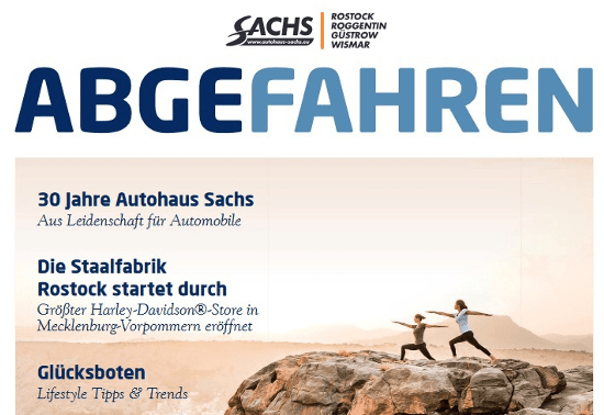 Abgefahren powered by Autohaus Sachs