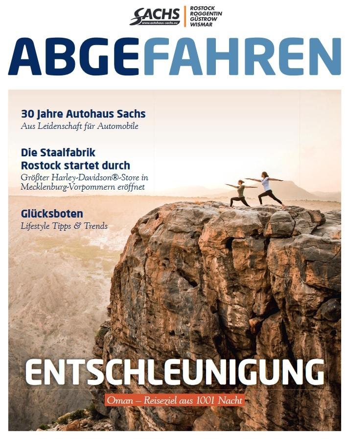 Abgefahren powered by Autohaus Sachs
