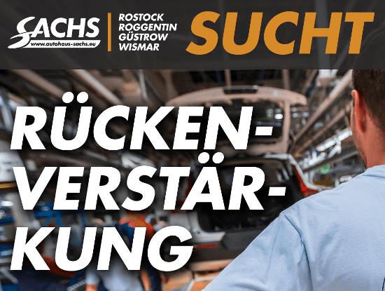 Autohaus Sachs sucht Verstärkung