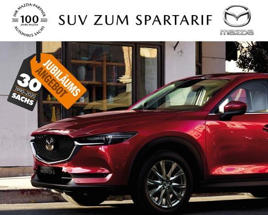 Mazda CX-5 - Leasing zum Spartarif bei Autohaus Sachs