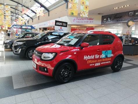 Autohaus Sachs Suzuki Roadshow HanseCenter Bentwisch - Hybrid für alle – von Groß bis ganz Klein - 1