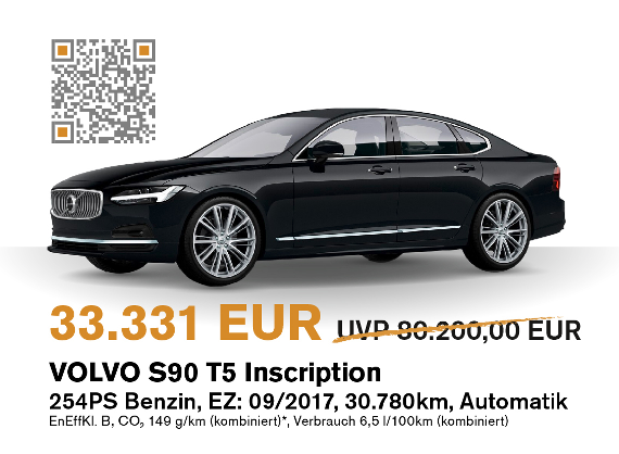 Volvo S90 Herbstaktion
