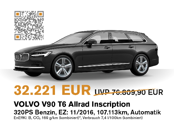Volvo V90 Herbstaktion
