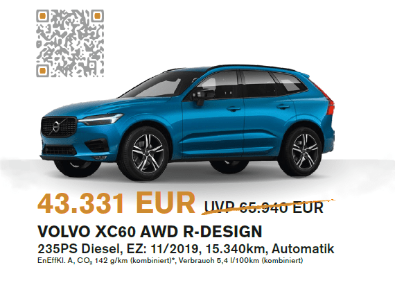 Volvo XC60 Herbstaktion