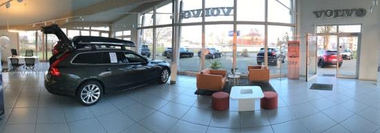 Volvo Autohaus Sachs Güstrow Umbau