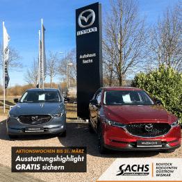 Mazda CX-5 Ausstattungshighlight gratis sichern