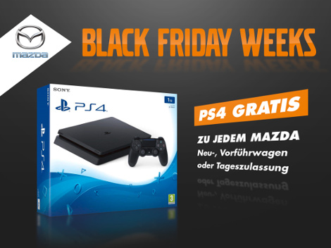 Mazda Black Friday Angebote.