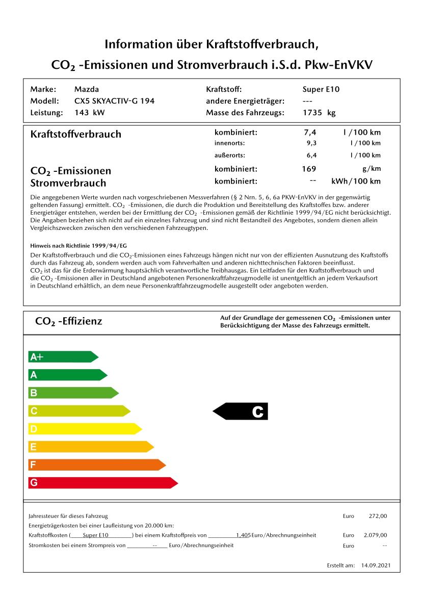 Autohaus Sachs Mazda CX-5 Fahrzeugzubehör