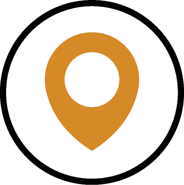 Piktogramm Standorte