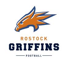 Das Logo der Rostocker american Footballmannschaft Griffins.