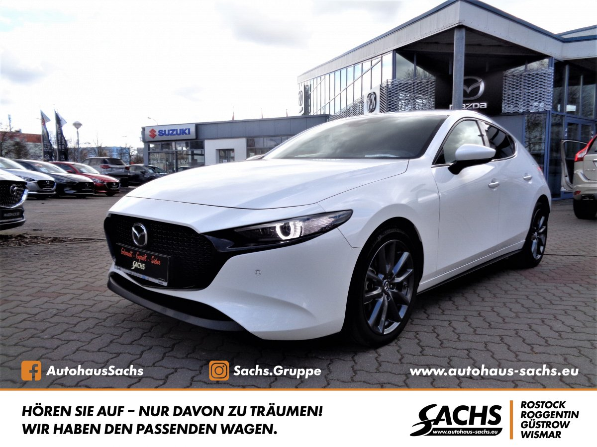 MAZDA 3 SKY-D 1.8 Selection Design I Active-Paket