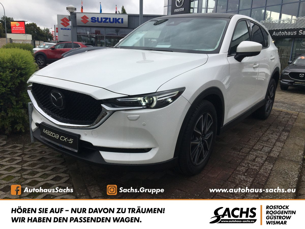 MAZDA CX 5 2.2 Sports Line AWD 184 PS LEDER TEC P