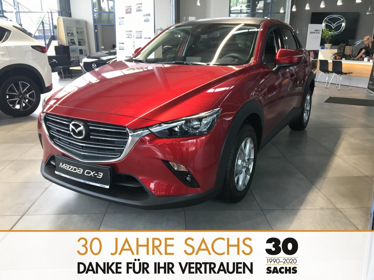 MAZDA CX 3 2.0 Exclusive Line 121 PS