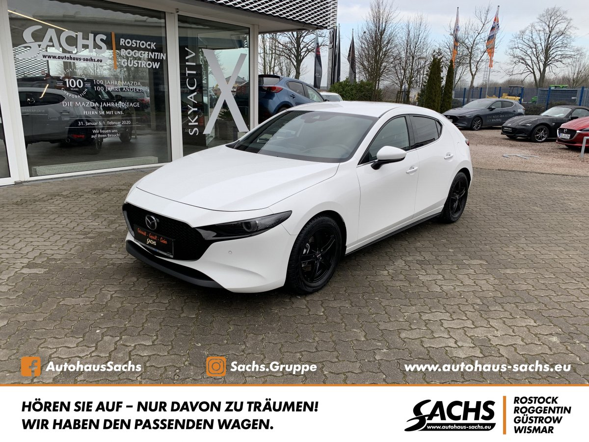 MAZDA 3 SKY-G M Hybrid Selection Design Paket