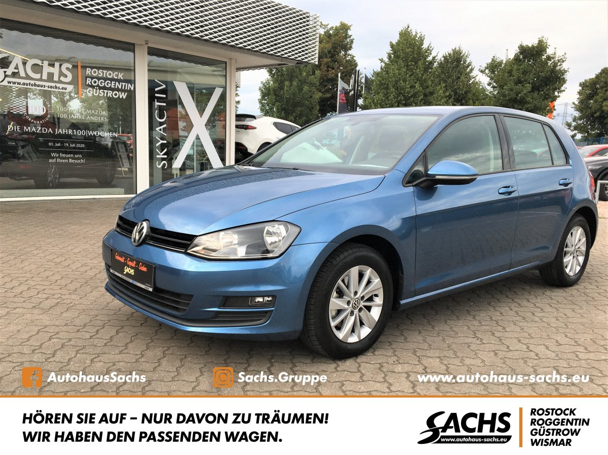 VW Golf VII Comfortline BlueMotion Technology Tempo