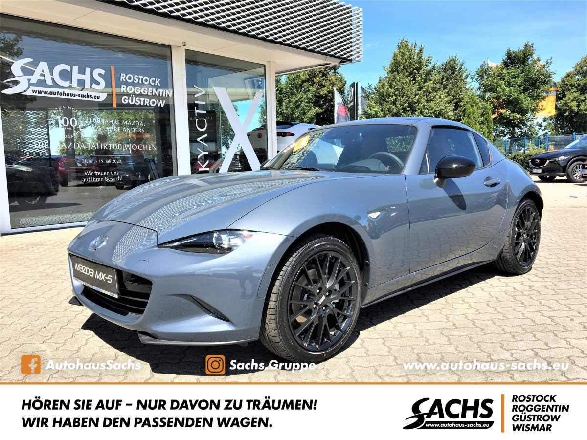 MAZDA MX-5 SKYACTIV-G 2.0 MX-5 RF 6GS AL-EDITION 100
