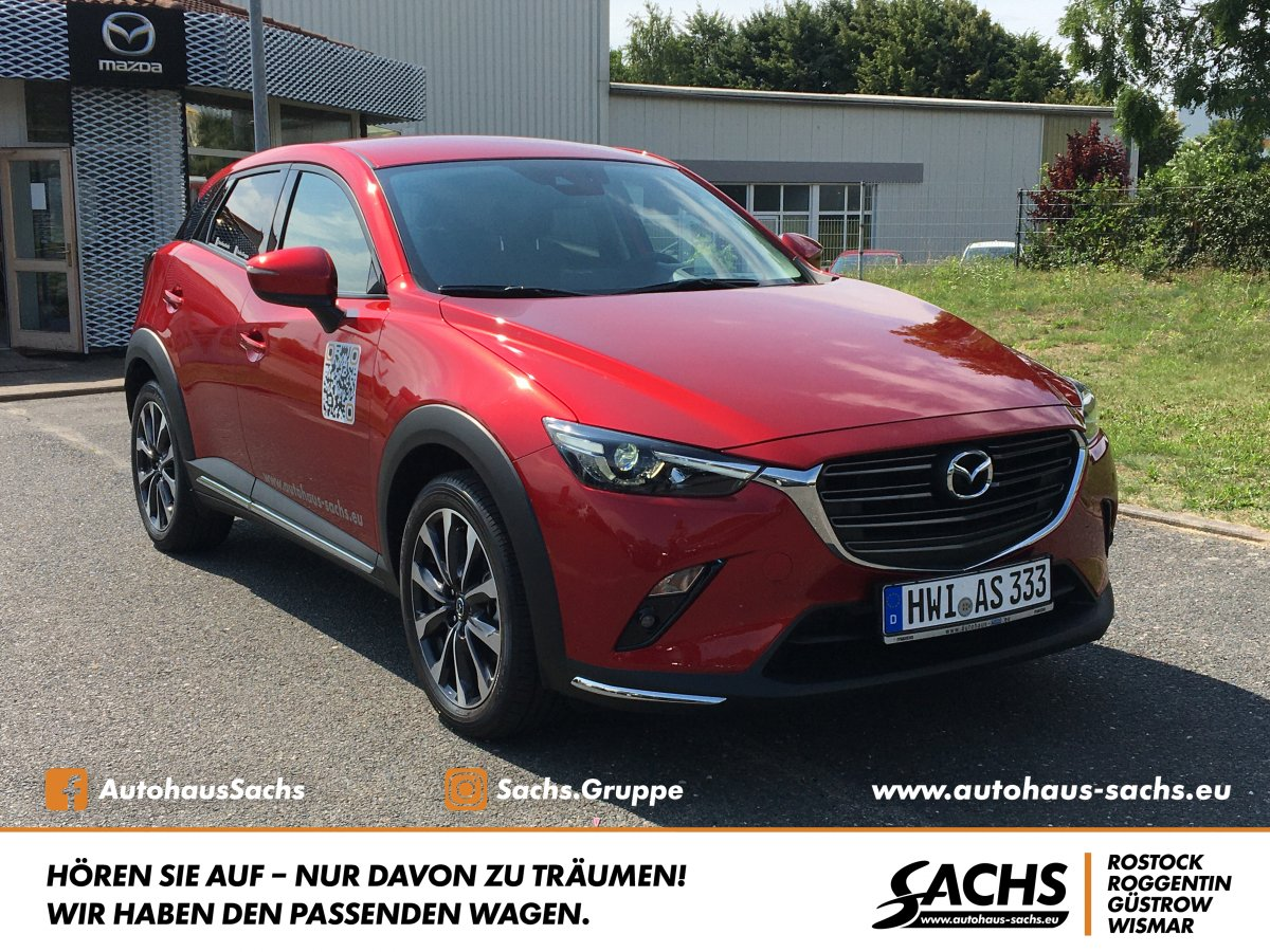 MAZDA CX-3 SKYACTIV-G 2.0 SELECTION Design-Paket Navi
