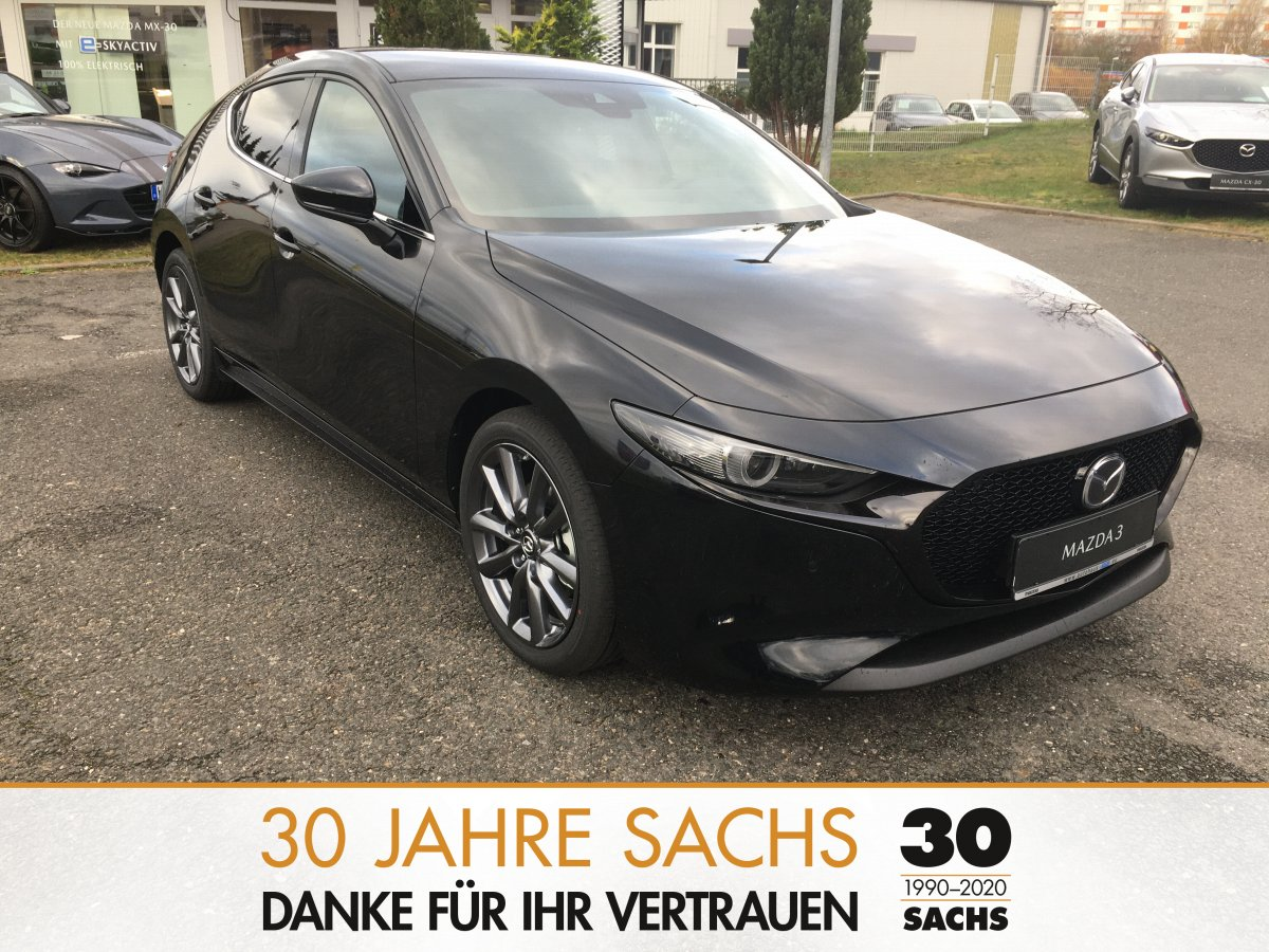 MAZDA 3 150PS M Hybrid SELECTION Design-Paket LED