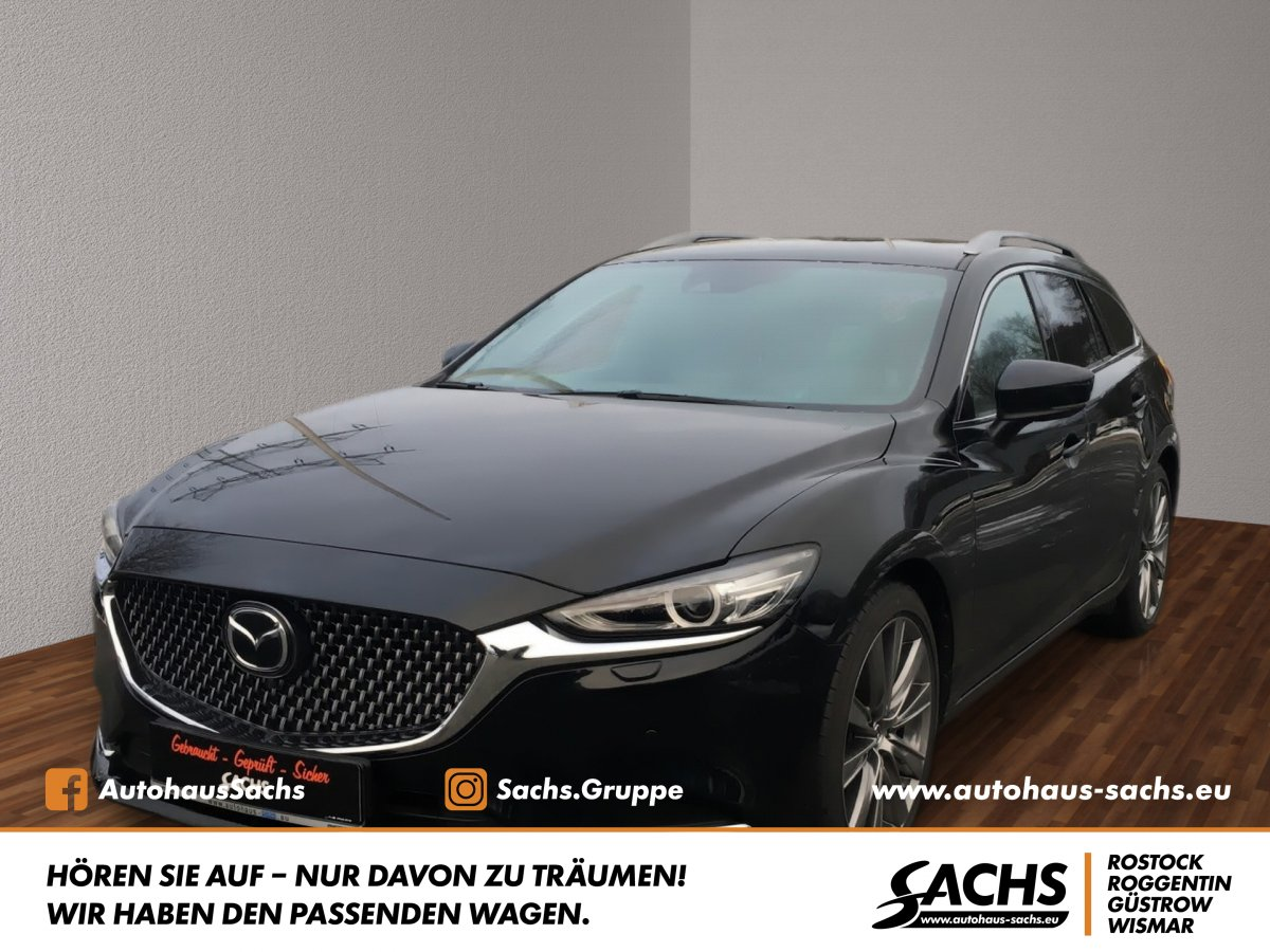 MAZDA 6 SKYACTIV-G 194 AT SPORTS-LINE SportPlus
