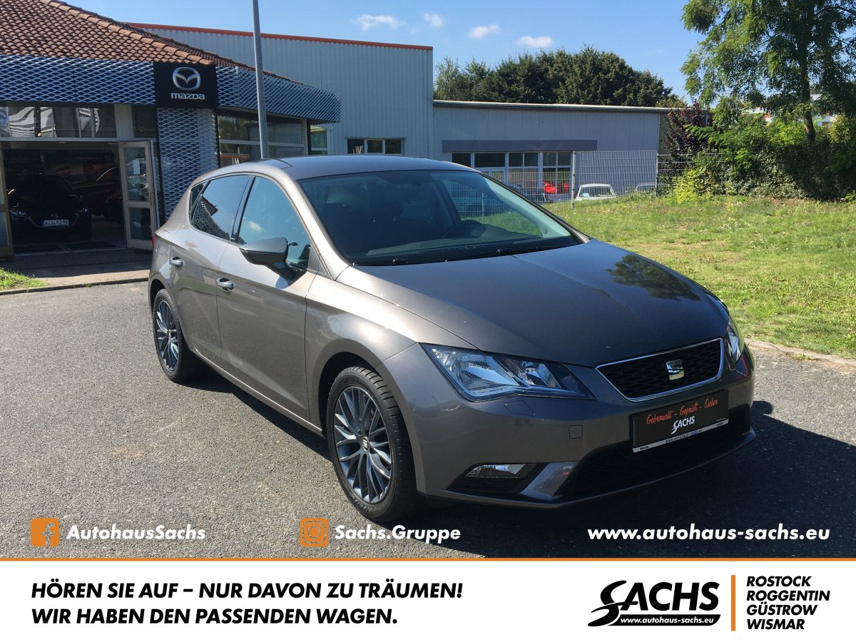 SEAT Leon 1.4 TSI CONNECT PDC SHZ 1.Hand