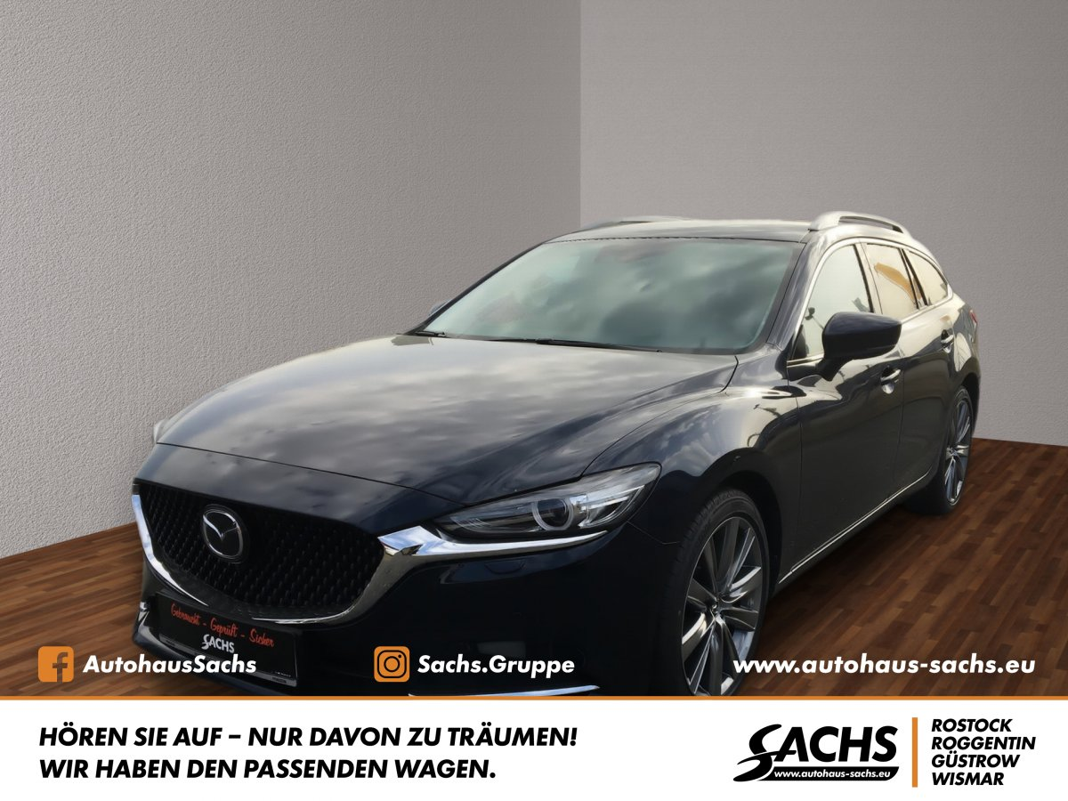 MAZDA 6 Sports-Line mit Navigation