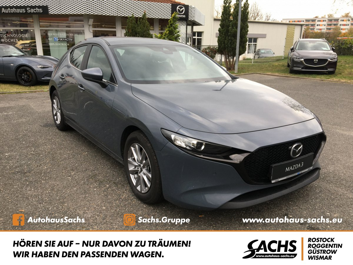 MAZDA 3 SKYACTIV-G 2.0 M-Hybrid Selection NAVI LED