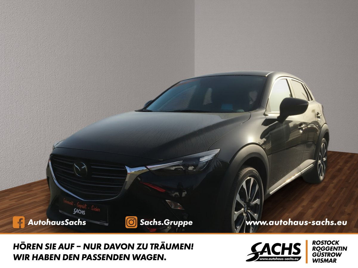 MAZDA CX-3 SPORTS-LINE mit Technik-Paket & Navi