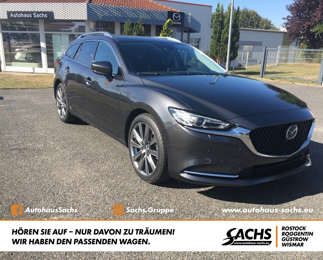 MAZDA 6 SK 2.5 AT Sports-Line Navi Bose LEDER