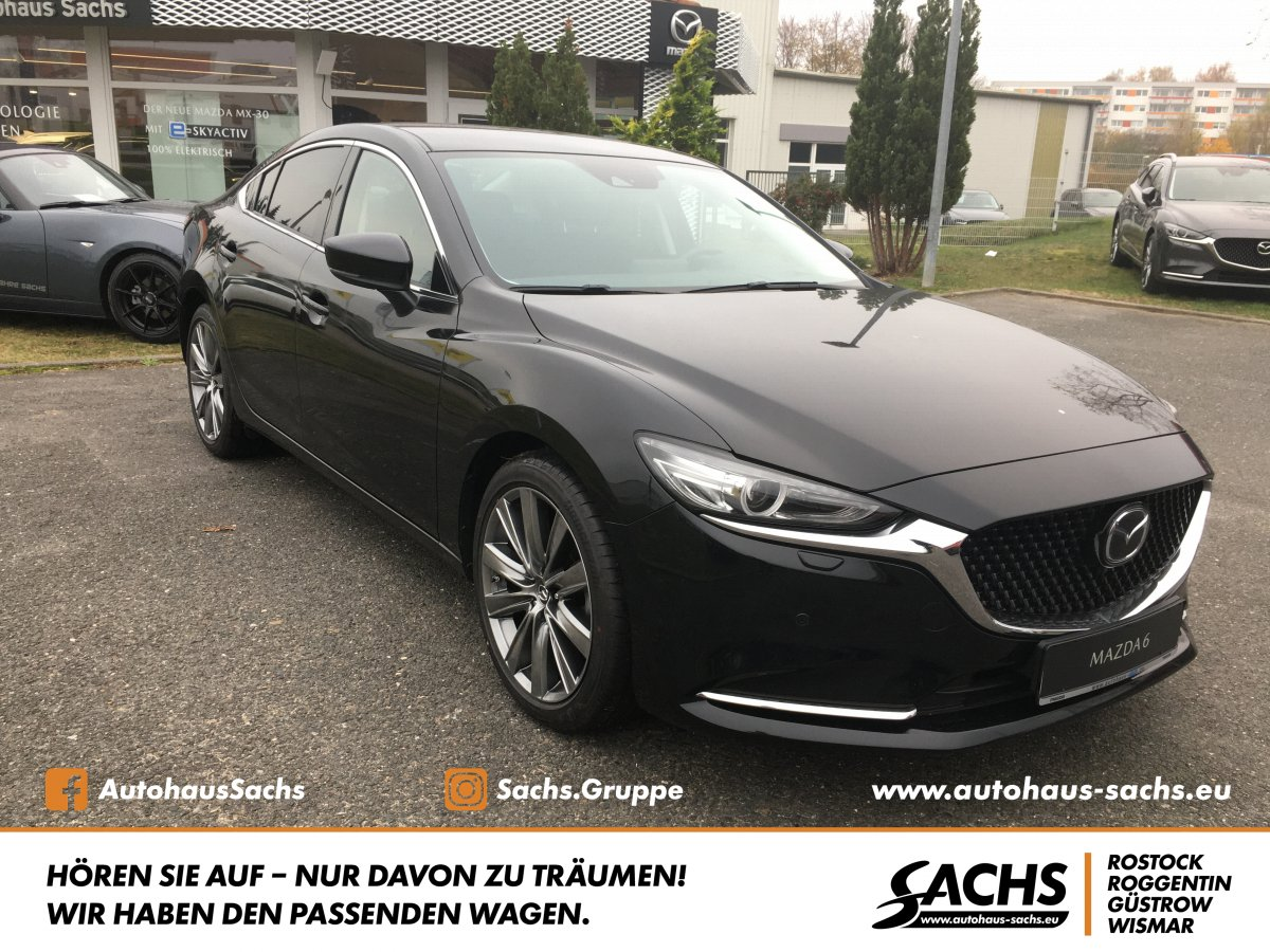 MAZDA 6 L SKYACTIV-G 194 AT SPORTS-LINE LED BOSE 1.Han