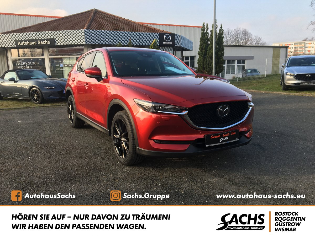 MAZDA CX-5 AWD Sports-Line Technik-Paket 1.Hand